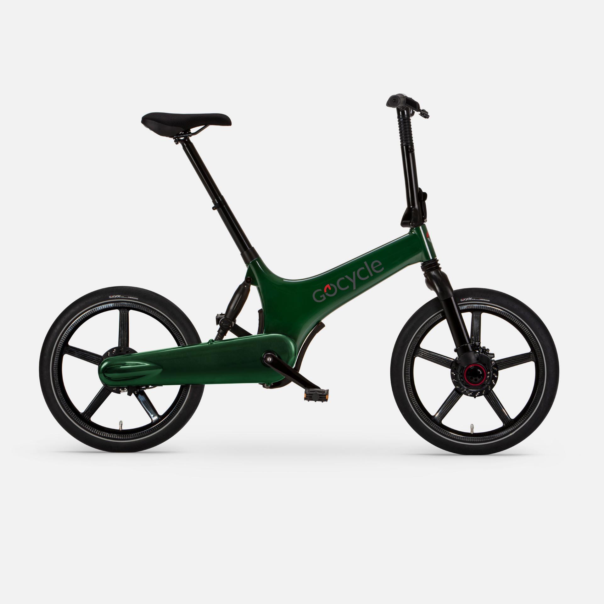 Gocycle G3+ Green (Front Brake Left)