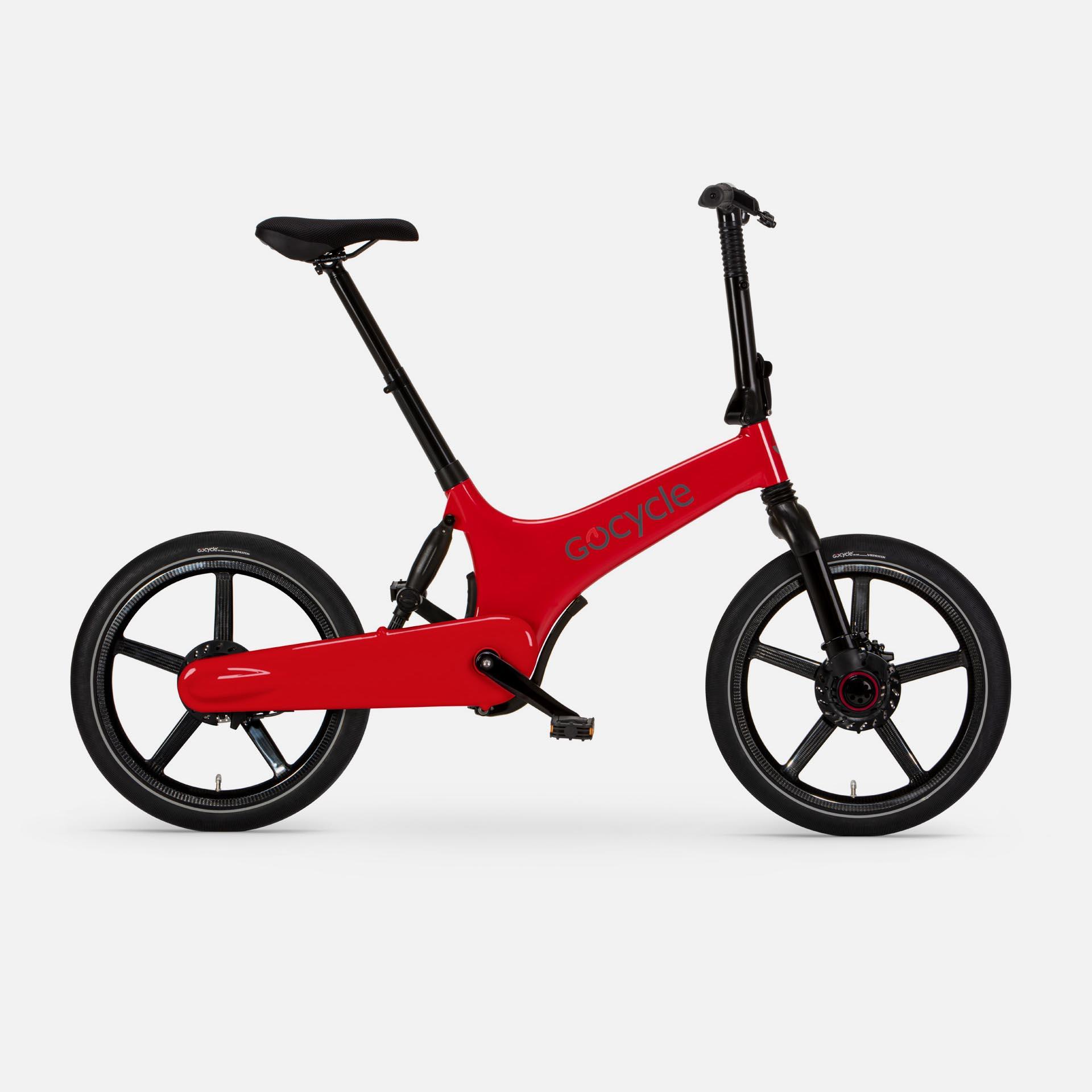 Gocycle G3+ Red (Front Brake Left)