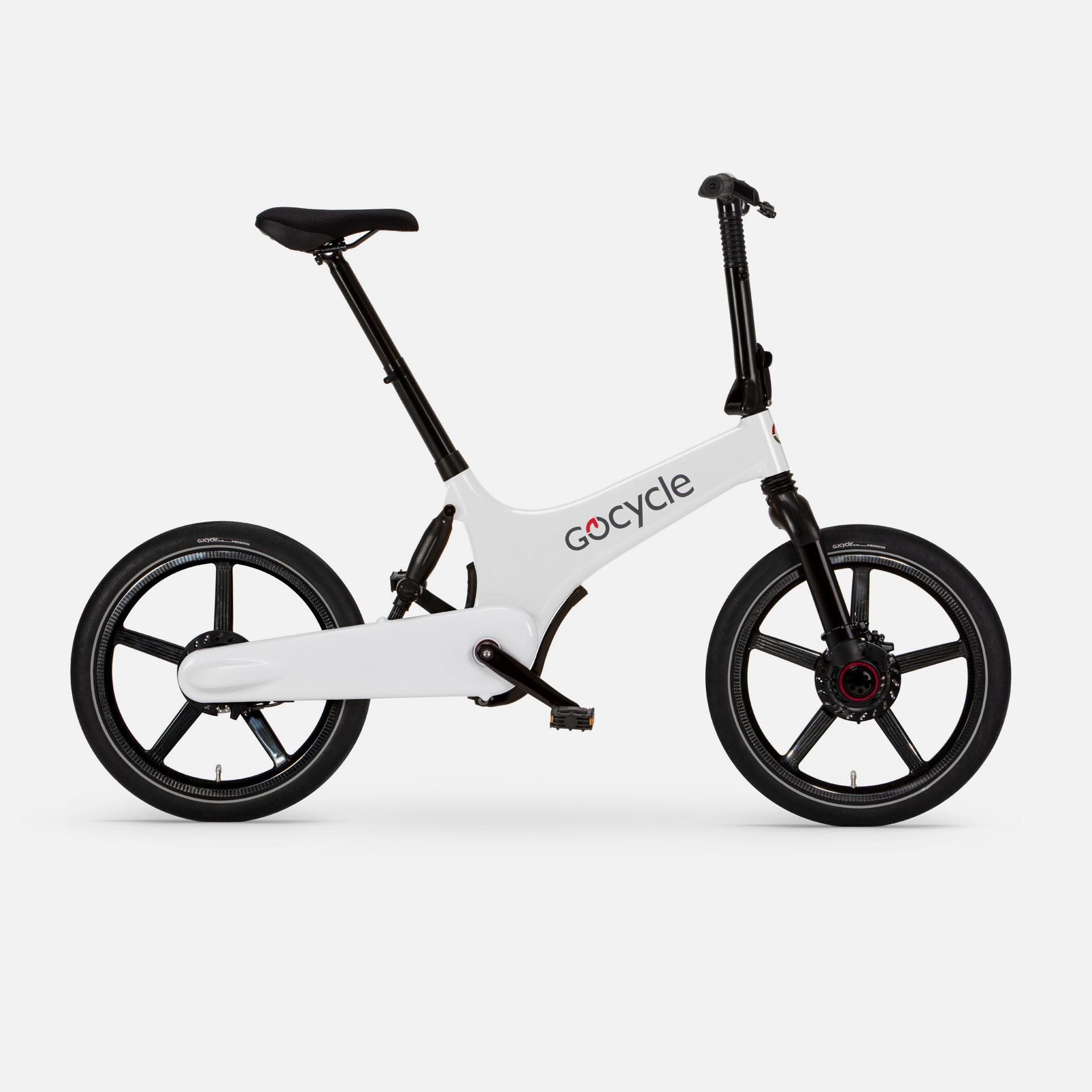 Gocycle G3+ White (Front Brake Left)