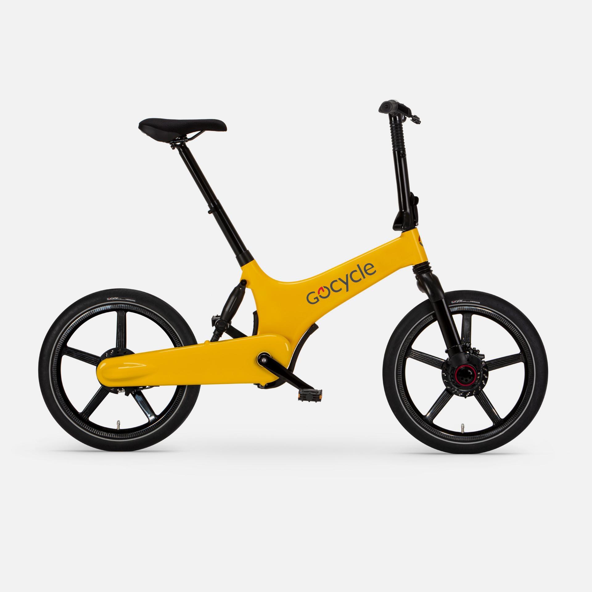 Gocycle G3+ Yellow (Front Brake Left)