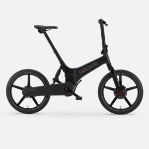 Gocycle G4 matte black foldable urban e bike