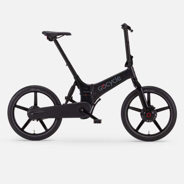 Gocycle G4 matte black foldable urban e bike