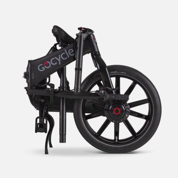 Gocycle G4 matte black folded
