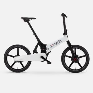 Gocycle G4 white foldable urban e bike