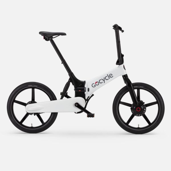 Gocycle G4 white foldable urban e bike