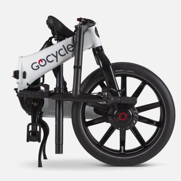 Gocycle G4 White (Front Brake Left)
