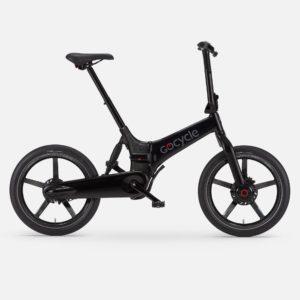 Gocycle G4i+ gloss black foldable urban e bike