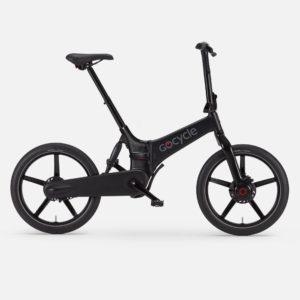 Gocycle G4i matte black foldable urban e bike