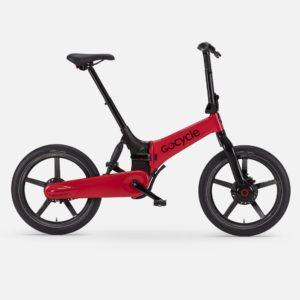 Gocycle G4i+ red foldable urban e bike
