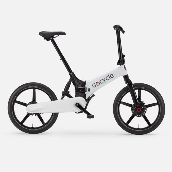Gocycle G4i white foldable urban e bike