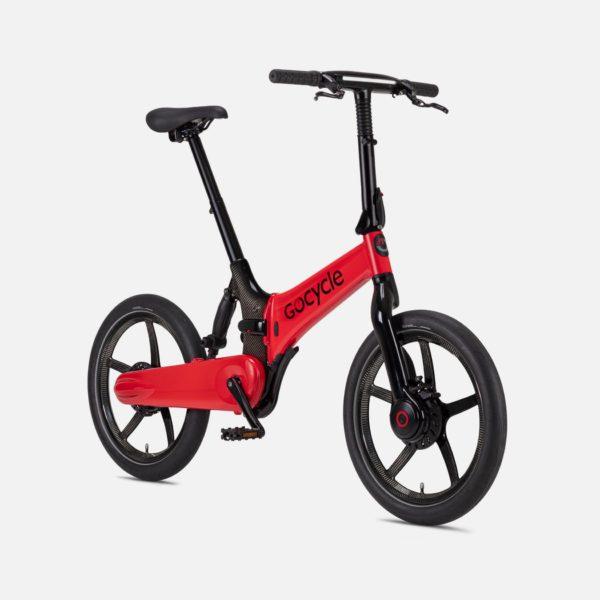 Gocycle G4i+ Red (Front Brake Left)