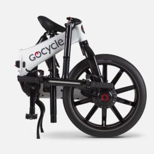 Gocycle G4i White (Front Brake Left)