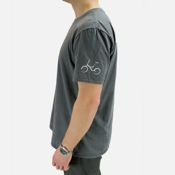 Gocycle grey t shirt side view