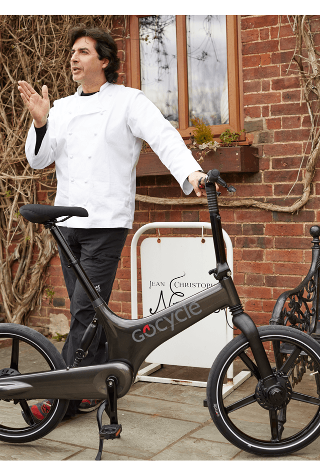 Jean-Christophe Novelli talking about the Gocycle.