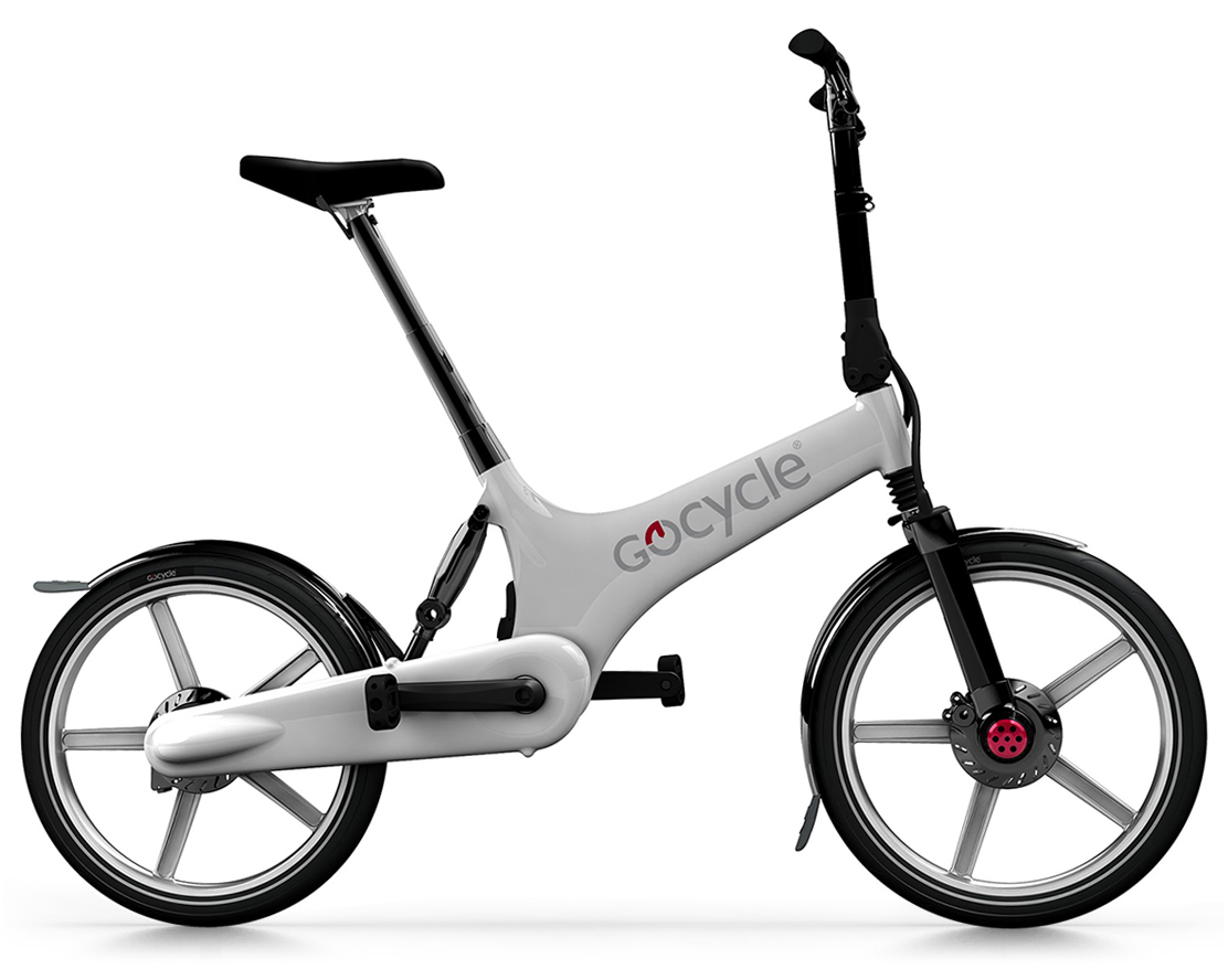 The Gocycle G1 was launched in March 2009.