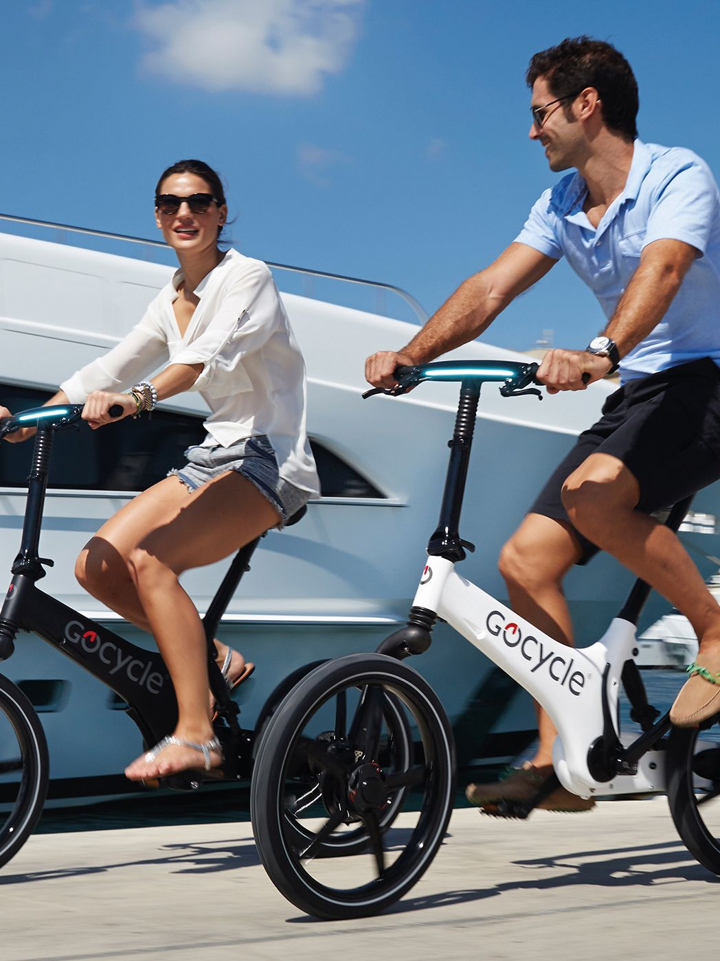 Riding socially is much more fun on an electric bike because the electric motor with level fitness abilities and you get to see more sites and ride further with the electric assistance.