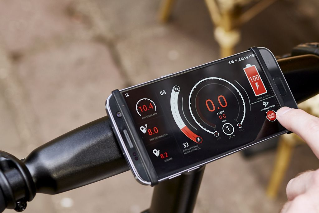 The GocycleConnect App allows the rider to customize and personalise the Gocycle to suit your riding style such as setting the speed and choosing assistance levels like city, eco, and custom motor settings. Gocycle was the first production electric bicycle in the world to be digitally connected via Bluetooth to your smartphone. We've led the industry ever since.