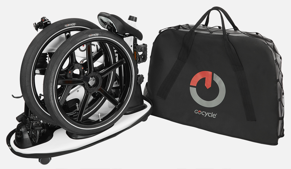 The low centre of gravity of the Gocycle design means that handling the product is easy.