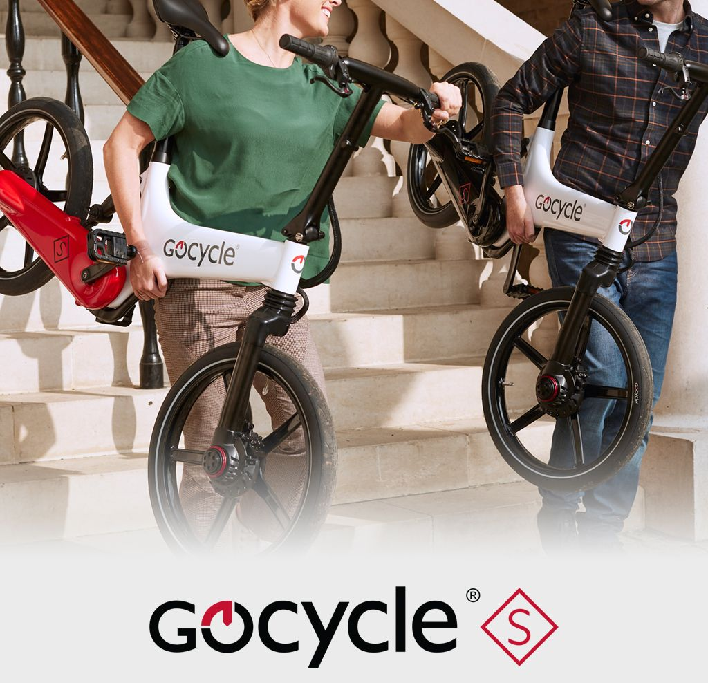 The Gocycle electric bike handles well in an urban environment due to it's balanced power and weight format.